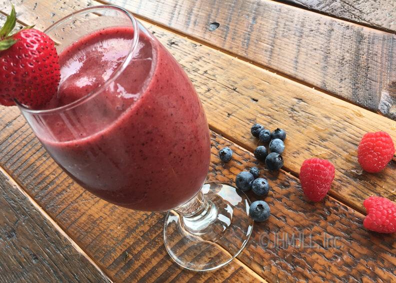tropical berry juice