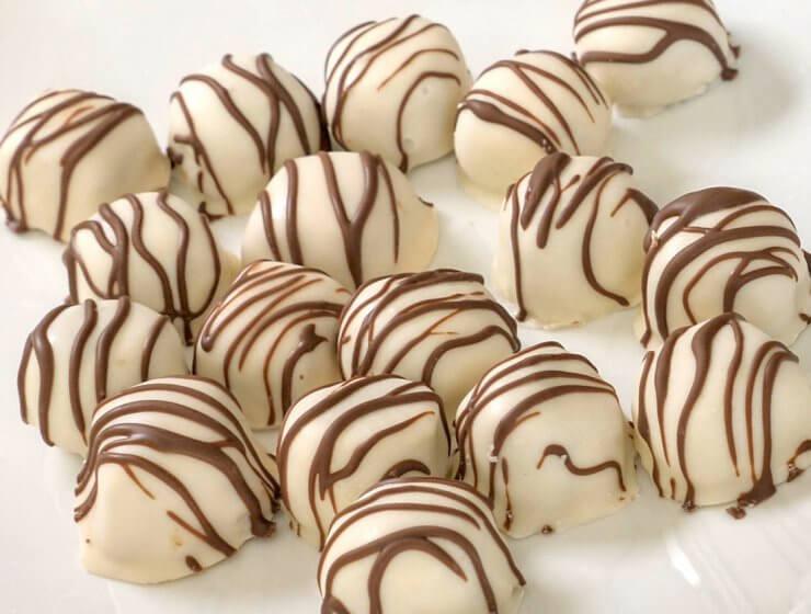easy truffles, Snickers® Truffles